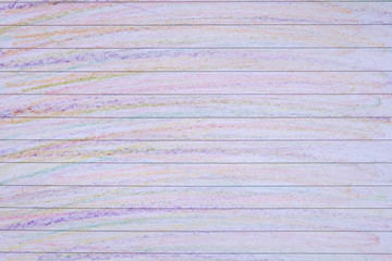 Pencil Color Rainbow on paper Background