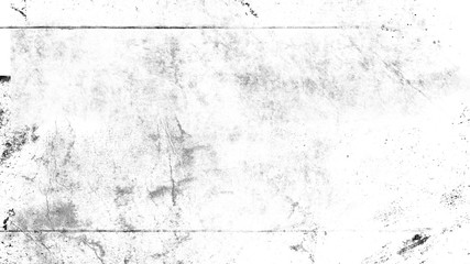 White vintage dust scratched background, distressed old texture overlays space for text.
