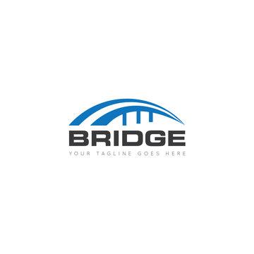 bridge logo, icon, symbol, design template