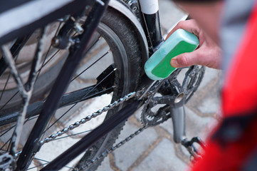 to take care of the bike, maintenance of the Bicycle, to lubricate parts and clean