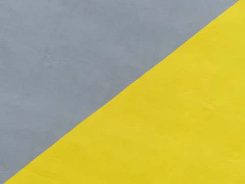 gray and yellow paint color wall background