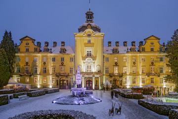Schloss Bückeburg Winter Panorama