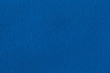 Texture of blue fleece, background photo