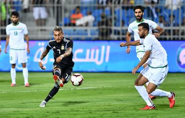 International Friendly - Argentina v Iraq