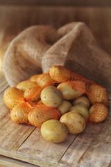 sac de pommes de terre