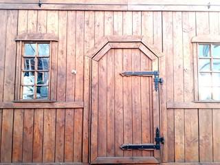 Holzhaus Hütte für Weihnachtsmarkt