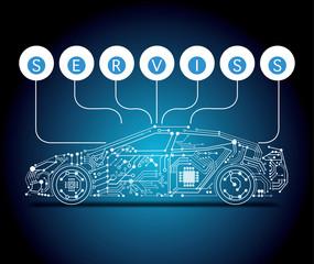 e-car, service update, upgrade