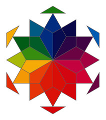 Geometric colorwheel