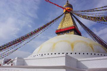buddhist stupa in kathmandu nepal