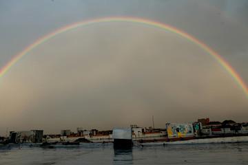 Rainbow over Brooklyn