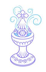 Incense burner icon