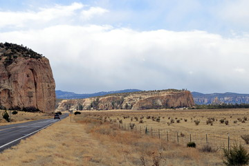 A Northern New Mexico Southwest landscape outside Gallup, NM