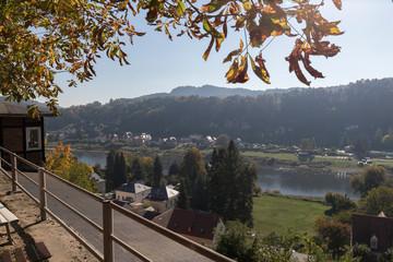 Herbst am Elbsandsteingebrige