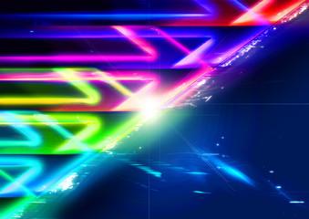 Myriad light arrows