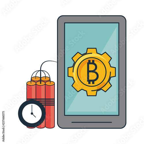 Bitcoin Mining And Investment Stock Image And Royalty Free Vector -