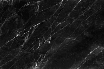 Black marble texture with white veins seamless patterns , interiors tile luxury for background