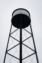 A water tower in Greenpoint, Brooklyn, New York City