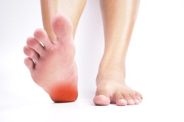 Heel pain , Tendon inflammation , Plantar fasciitis.