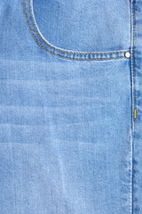Denim texture as background