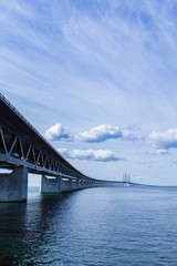 oresunds bridge in malmö