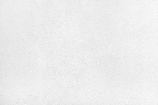 White textured plastered wall background