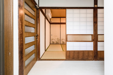 Interior of Japanese house