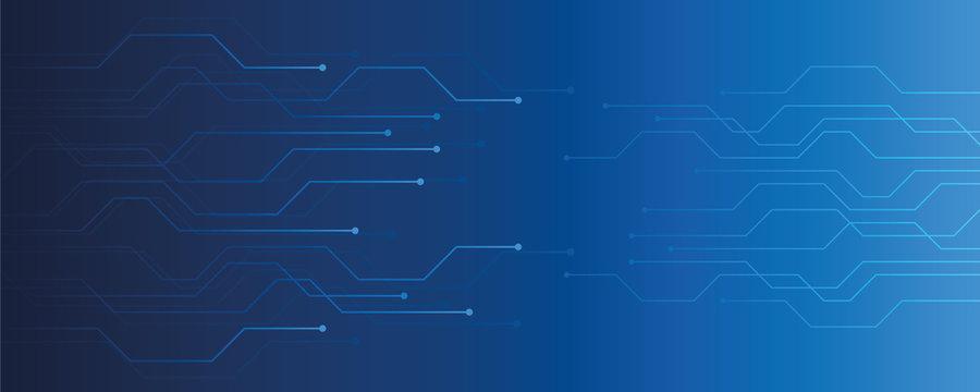 blue technical digital background circuit board vector illustration EPS10