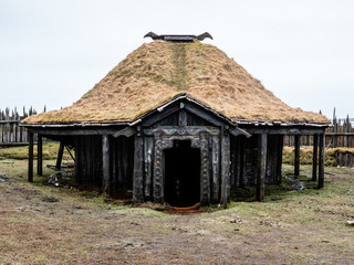 House of a local Village in Iceland