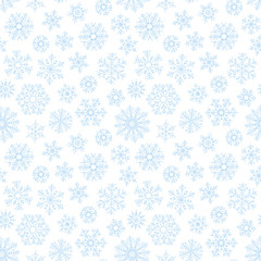 Christmas seamless doodle pattern