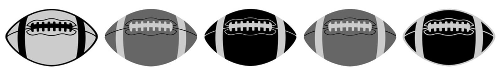 American Football | Ball | Emblem | Logo | Variations