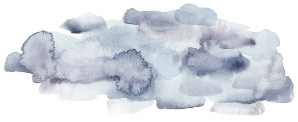 Winter watercolor texture.