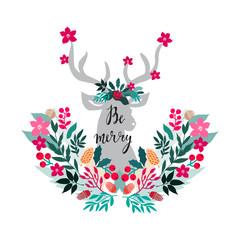 Christmas deer2