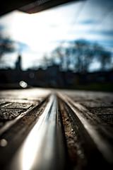 Straßenbahnschiene