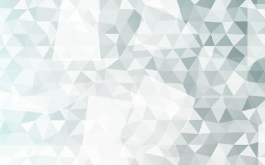 Bright Multi Color Triangles Background. Vector Illustration. For Design, Presentation