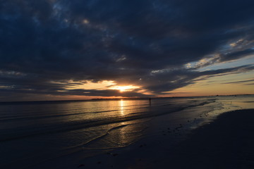 Bunche Beach Preserve Sunset Sky