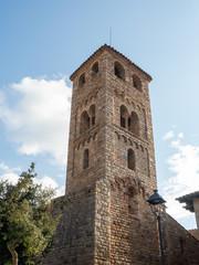 Romanesque church of Espilnelves, Gerona, Spain