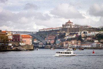 Porto Cityscape on a Cloudy Day