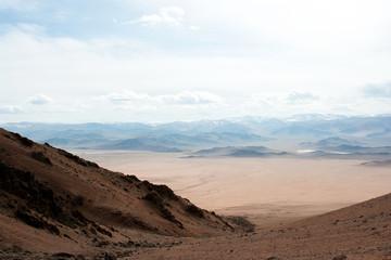 Western Mongolia near Tolbo lake