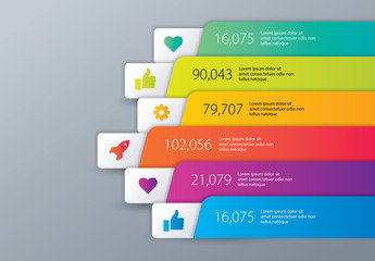 Colorful Business Infographic Layout
