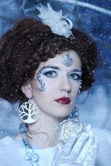 Snow Queen. Fashion, actress.
