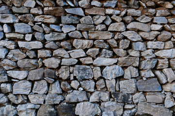Brick and stone walls