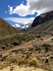 Andes Mountain in Chile