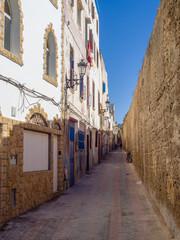 Streets of the medieval medina in Safi