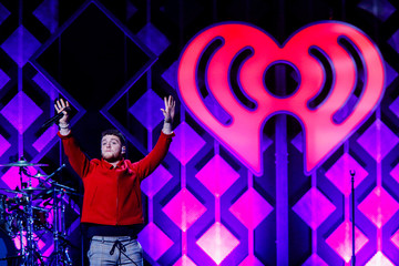 Bazzi performs during Z100's iHeartRadio Jingle Ball 2018 concert at Madison Square Garden in New York