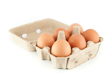 eggs in a carton