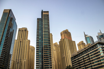 Modern Dubai Architecture Dubai Marina District November 2018