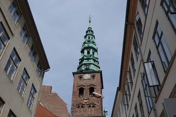 Old tower in Copenhagen, Denmark
