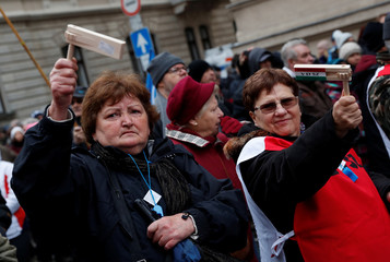 Protest against the government in Budapest