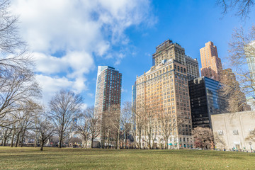 Fototapete - New york skyscrapers in Manhattan