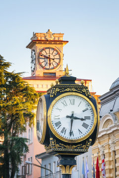 Old Clock in Batumi, Georgia